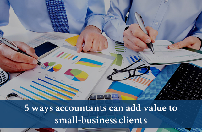 accountants, value add, small business, tips